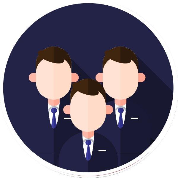 staff icon circle