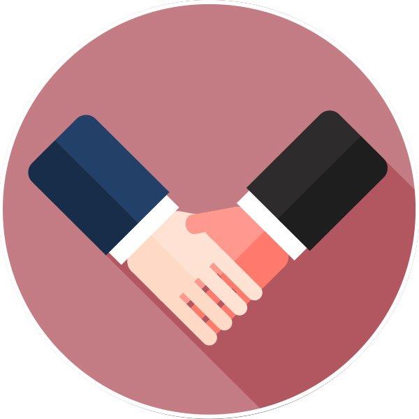 handshake icon 신용카드 현금화 업자 추천